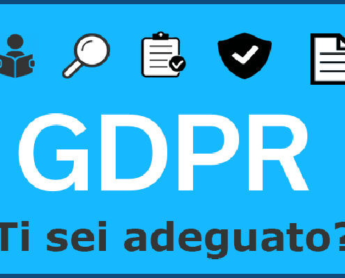 GDPR privacy sito internet