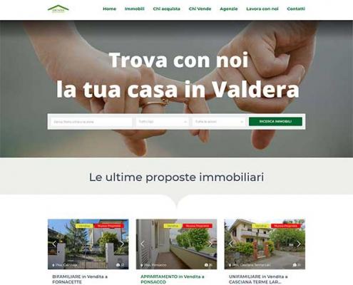 realizazzione sito internet agenzia immobiliare arcadia