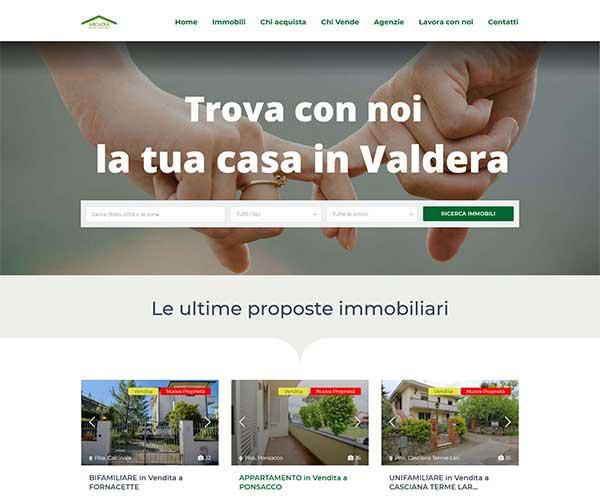 realizzazione sito internet agenzia immobiliare arcadia