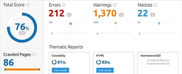 ottimizzazione seo costi, page rank e competitors.
