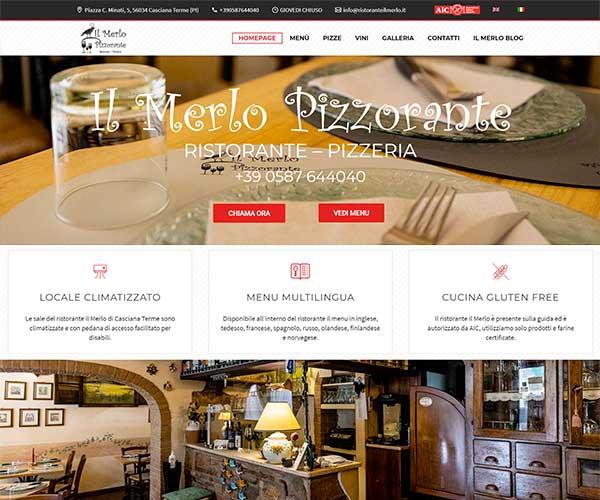 realizzazione siti internet ristoranti