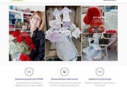 Realizzazione E-commerce Merceria Creativa